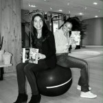 In Technogym con Giusy Versace - Foto Michele Qualdi