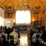 Prima presentazione in Comune a Ferrara, Sala Arazzi, 7 dicembre 2013 - Foto Pierluigi Benini