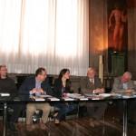 In Comune a Ferrara con l'assessore allo Sport Masieri, Fausto Molinari e gli special guests