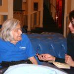 Eccomi emozionata intervistare Margherita Hack - febbraio 2012