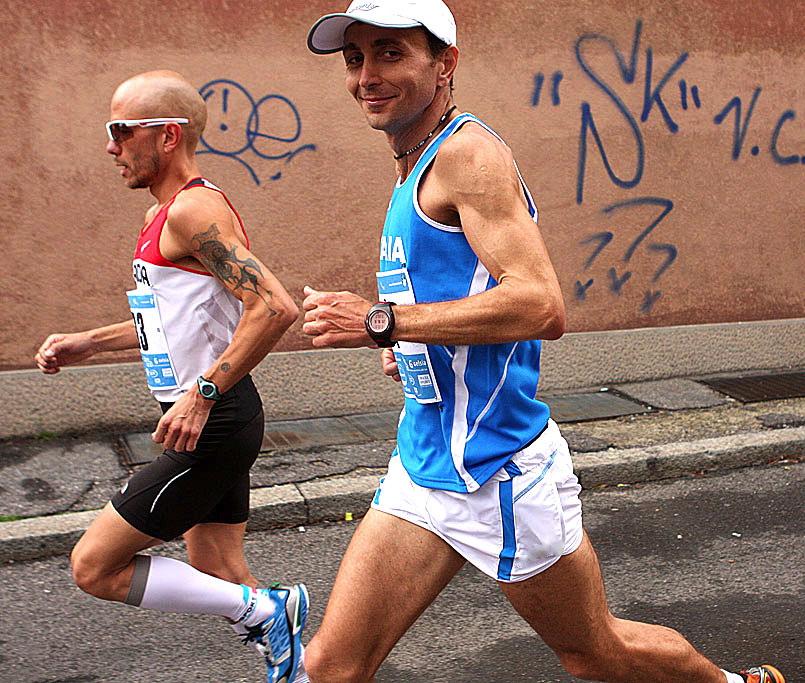 Giorgio Calcaterra in azione. Foto Roberto Mandelli