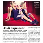 La super modella Heidi Klum