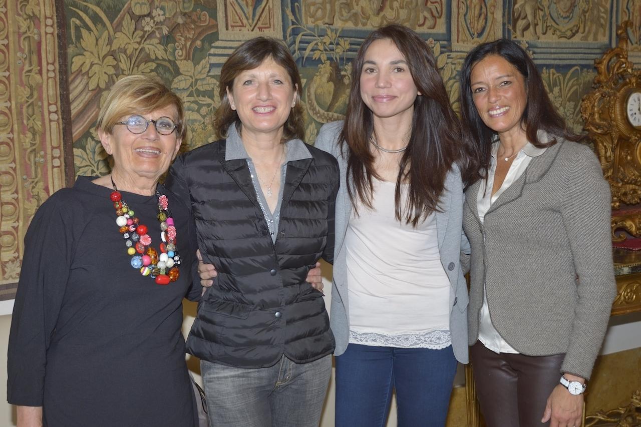 Eccomi con Laura, Mariangela e Mariluz