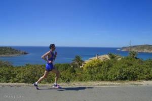 Chia Laguna Half Marathon: intervista di corsa