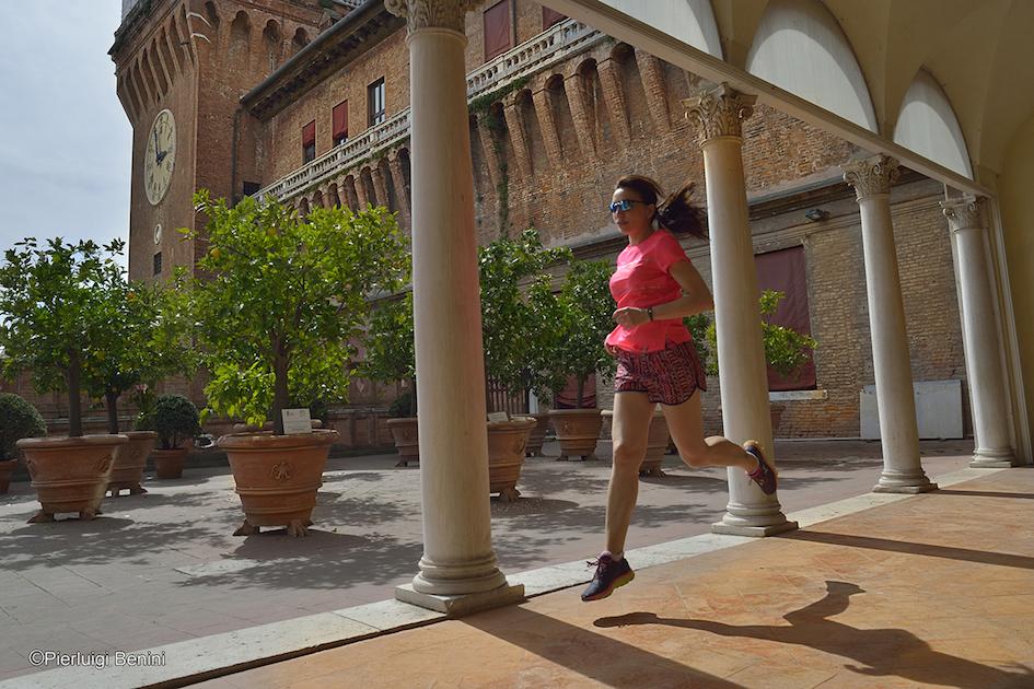 Loggia degli Aranci, CASTELLO ESTENSE - FOTO BENINI PER RUNNING POST