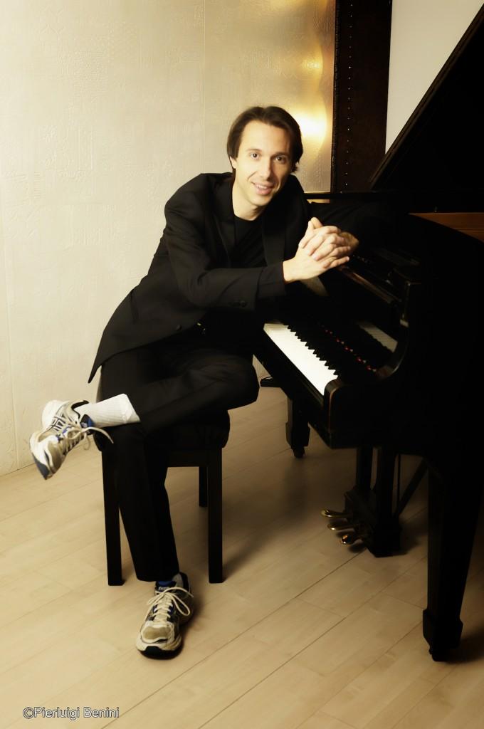 Maurizio Baglini al piano