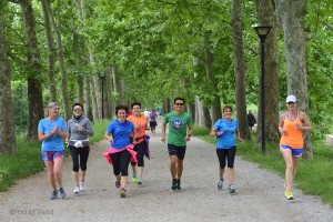 Runners con coach Il Yong Cerchiai
