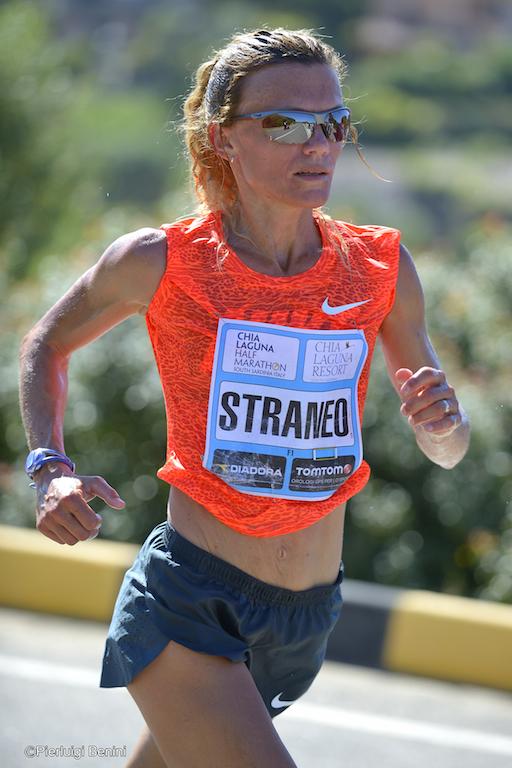 Valeria Straneo in azione nella 21K - Foto Pierluigi Benini