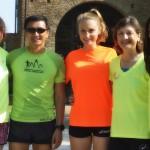 Con Il Yong, Giorgia, Laura e Mariluz