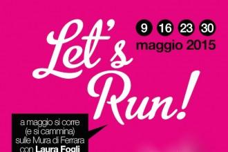 let's Run Locandina - www.runningpost.it