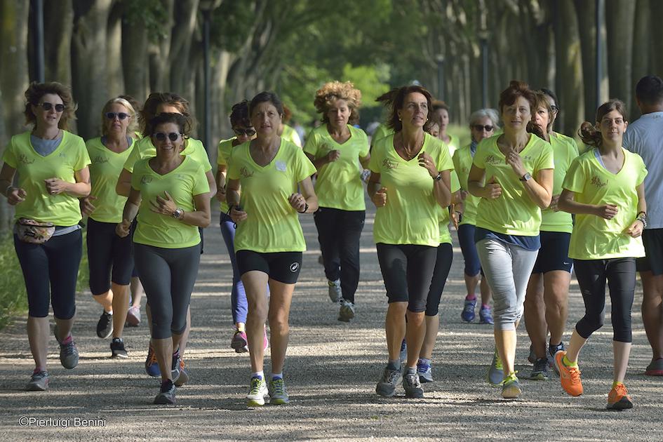 runners con Laura Fogli