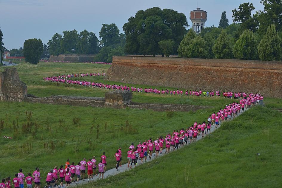 Il sottomura di Ferrara - Foto Benini per Running Post