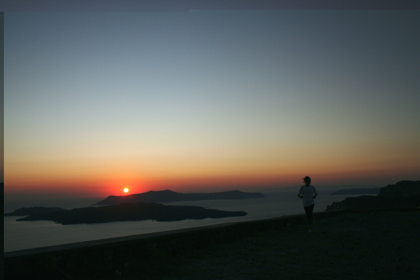 Santorini, tramonto - Foto Tommaso Gallini, Running Post