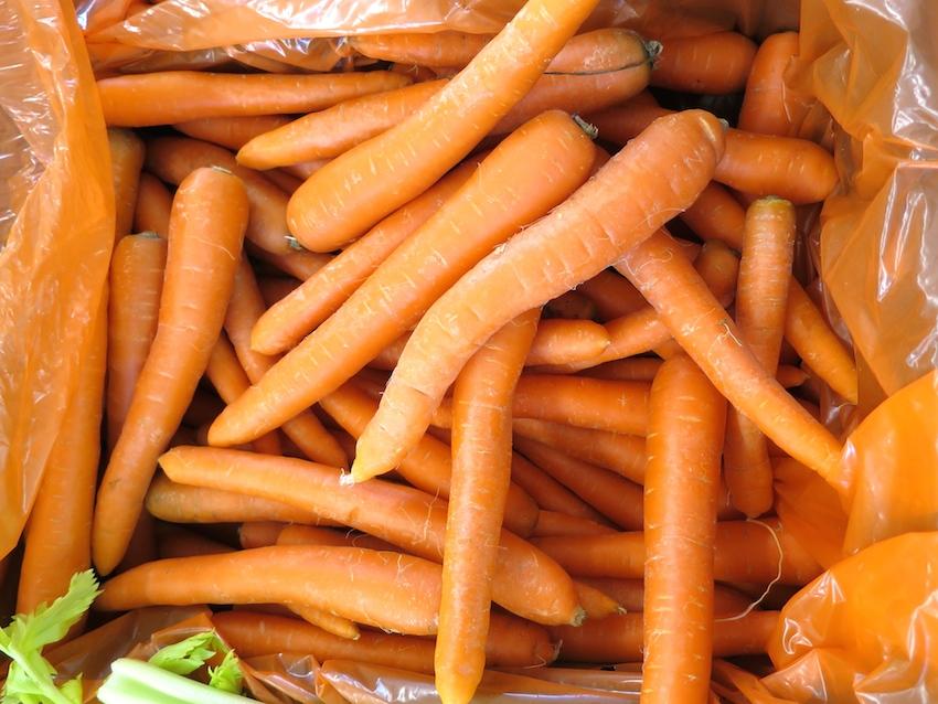 carote, con alto contenuto di Vitamina A