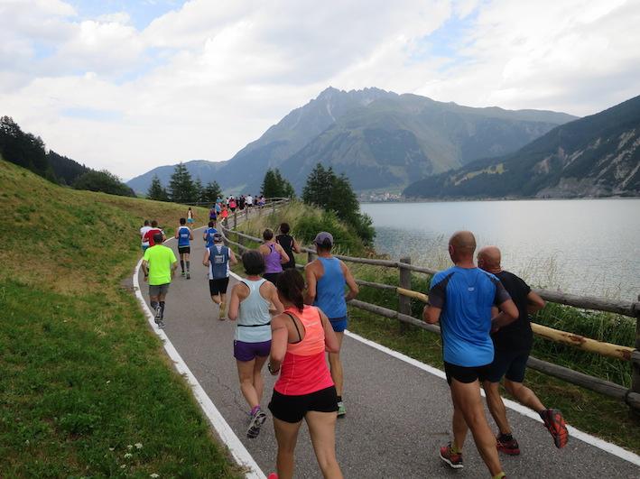 Giro del lago di desia - Foto Running Post