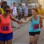 Cambio tra Sara ed Elena - Foto Running Post
