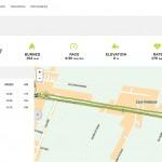 ecco il tracciato e i mie dati con il TomTom Cardio - Running post