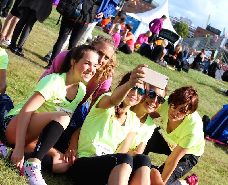 E un selfie non ce lo vogliamo fare?!? - Foto Gallini per Running Post