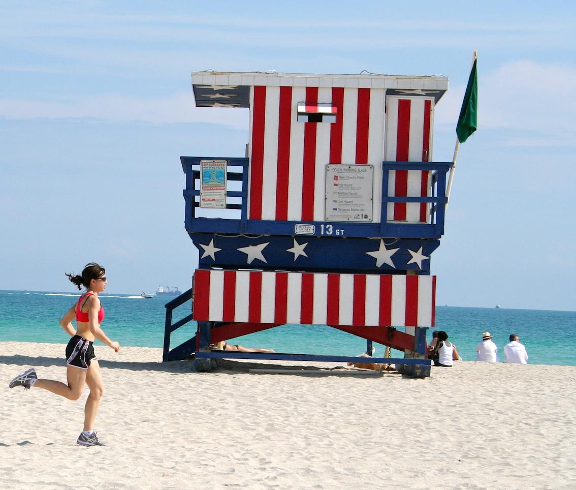 Eccomi lungo la spiaggia - Foto Fabio Righetti per Running Post