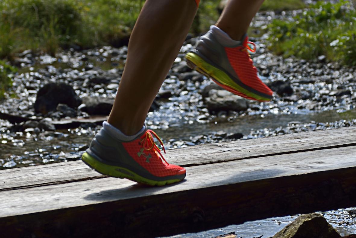 eccomi con le SpeedForm Gemini ai piedi - Foto Benini per Running Post