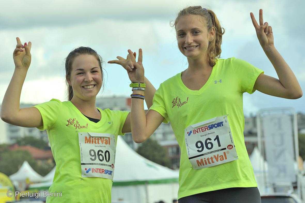 Giorgia e Ilaria - Foto Benini per Running Post