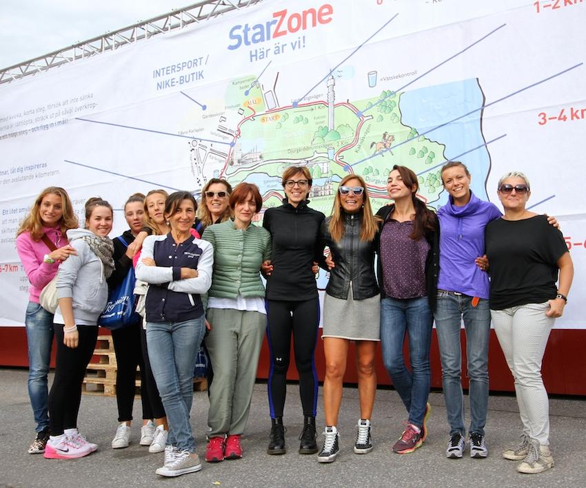 Team Tjejmilen - Foto Gallini per Running Post