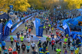 TCS New York City Marathon 2014 - Foto P. Benini