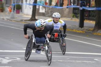 Alex Zanardi in azione - Foto P. Benini