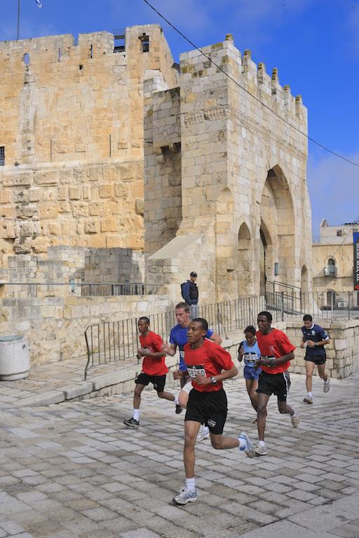 Jerusalem Half Marathon - Foto P. Benini