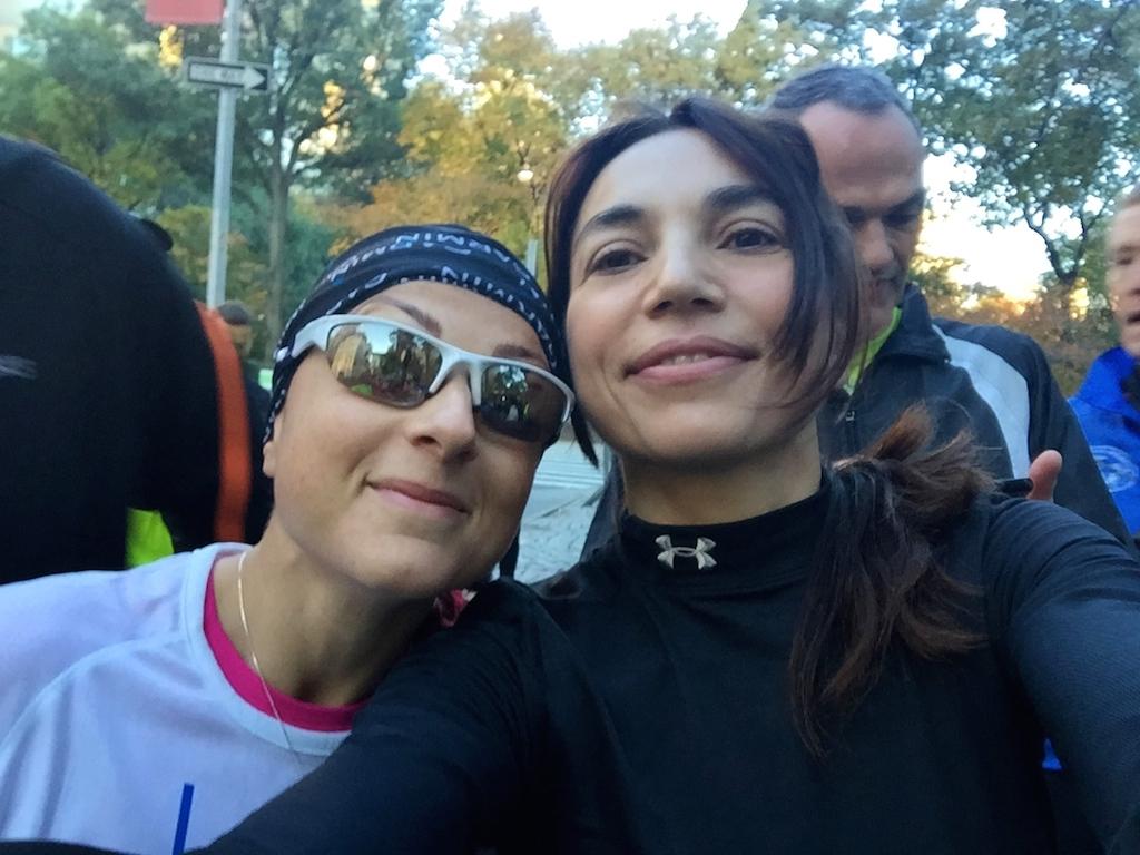 Con Silvia Schiapparoli