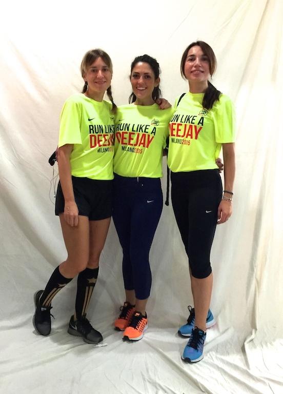 Eccomi con Daniela Chiara all'interno dello spazio Nike - Foto Running Post
