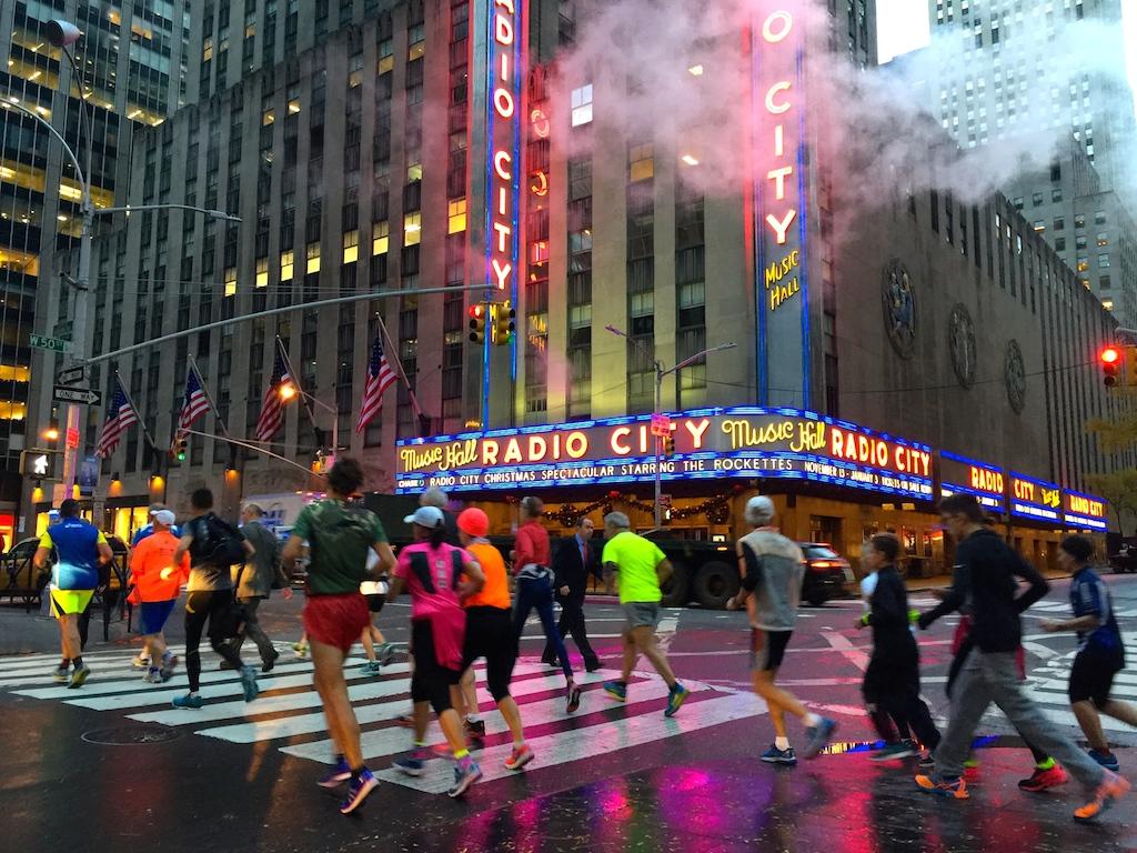RADIO CITY HALL, NEW YORK - FOTO RUNNING POST
