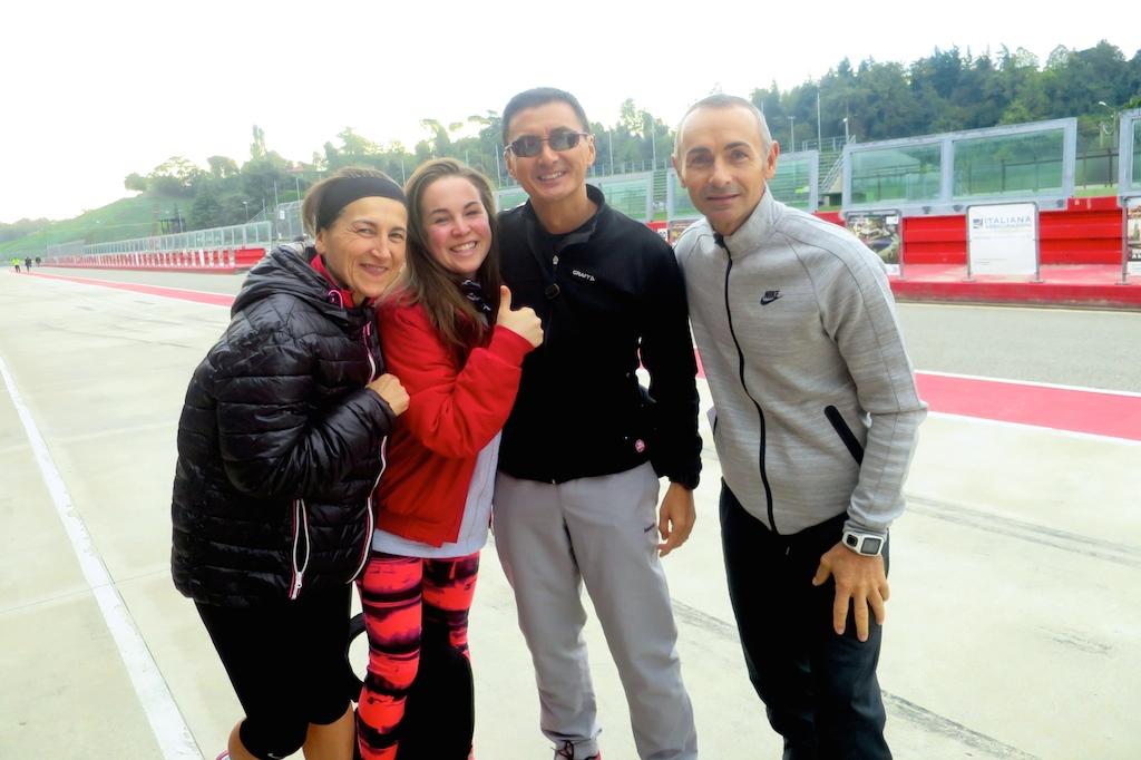 Maurizia Patracchini, Ilaria Marzola, Il Yong Cerchiai e Raffaele Righetti - Foto Running Post