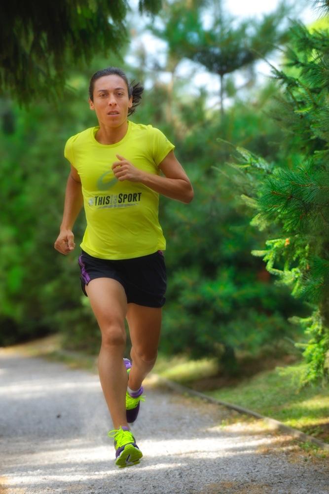Francesca Schiavone - foto P. Benini per Running Post