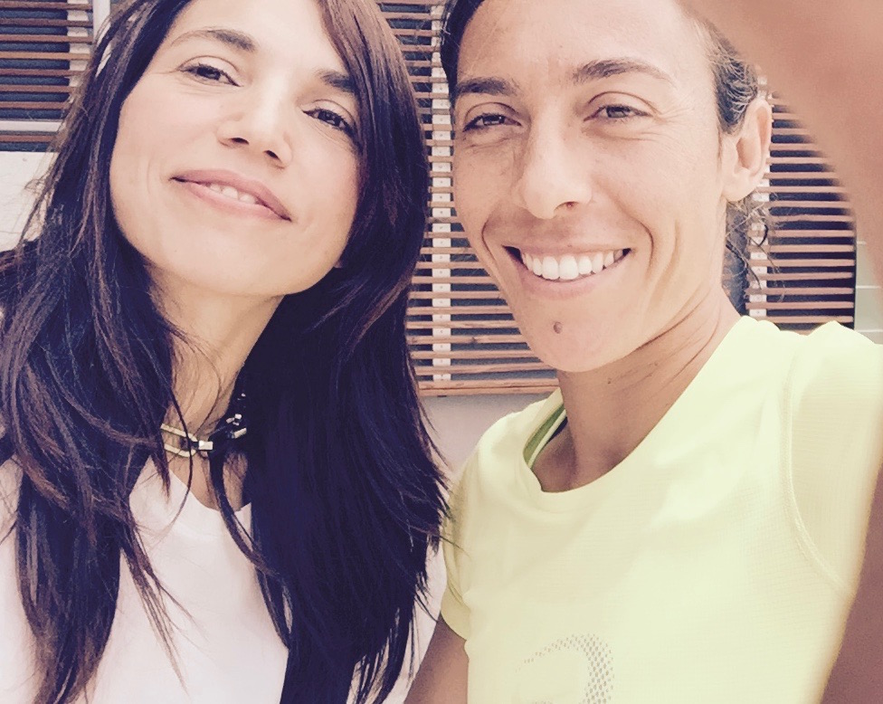 Francesca Schiavone e Irene Righetti - Foto Running Post