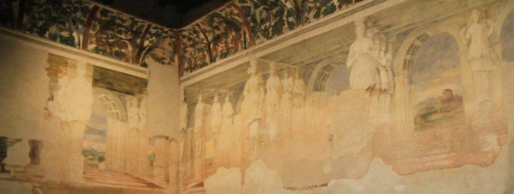 La Sala delle Vigne, Castello di Belriguardo - Foto T. Gallini