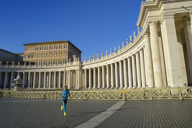 Piazza San Pietro, Roma - www.runningpost.it