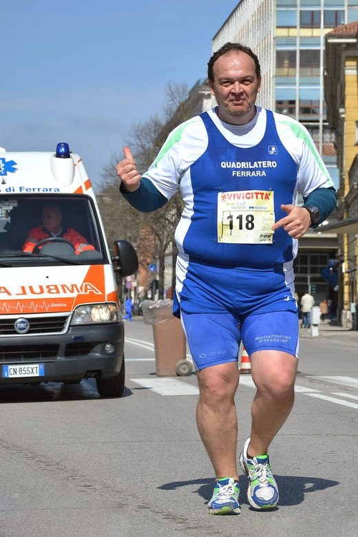 Daniele Vassalli in gara