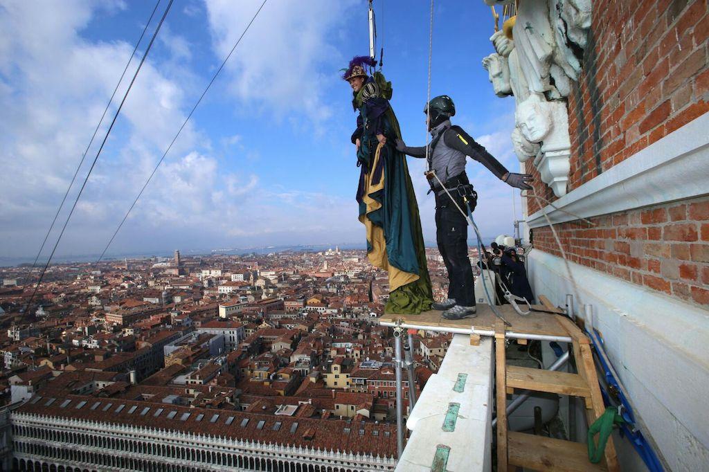 Giusy si prepara a volare, Venezia 2015