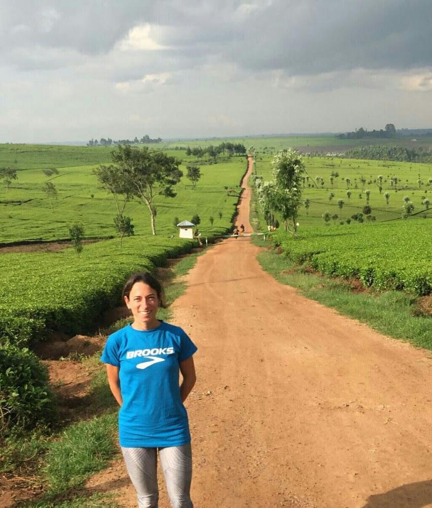 Emma Quaglia in Kenya