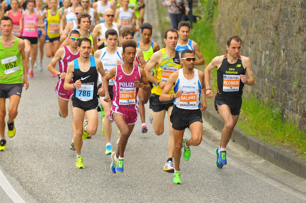 La 10 km con in testa alcuni dei migliori atleti italiani