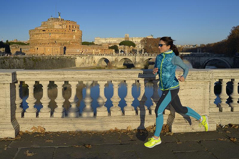 Irene per new Balance e la maratona di Roma