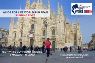WINGS FOR LIFE WORLD RUN - RUNNING POST