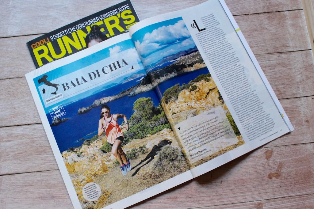 Il reportage sulla Sardegna di Dicembre 2017 pubblicato su Runner's World