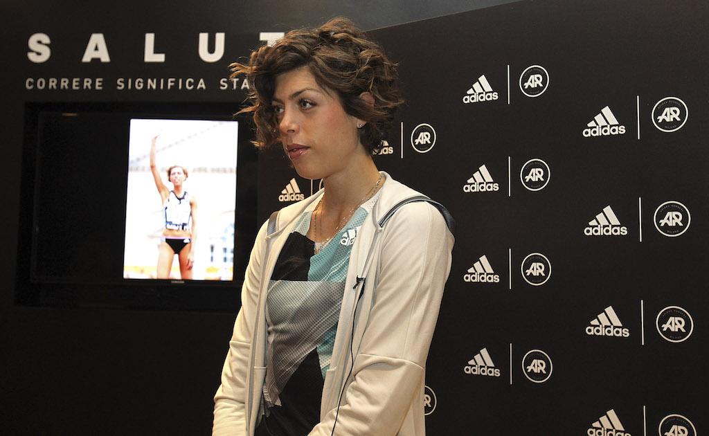 Conferenza Stampa Blanka Vlasic a Run Base ph Marco Luzzani/Getty Images