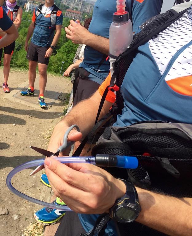 Preparazione della cammeo-bag con la Water Pump