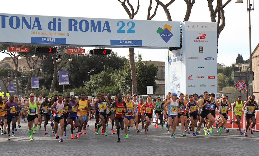 Start maratona di Roma - Foto di Tommaso Gallini