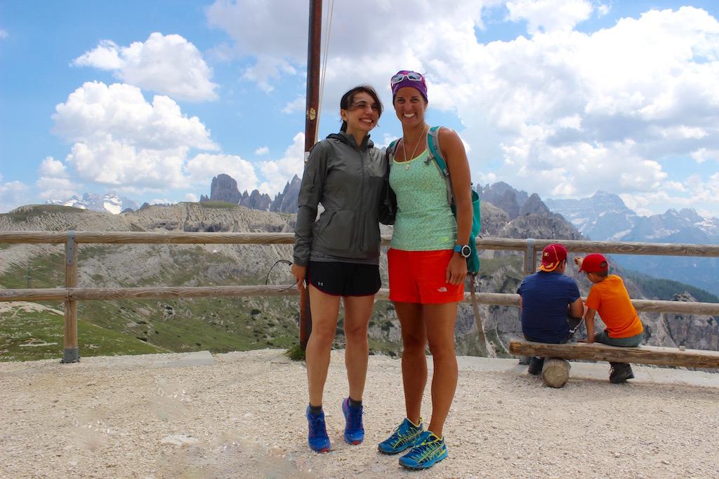Eccomi con Tamara Lunger... Ma quanto sei alta?!?