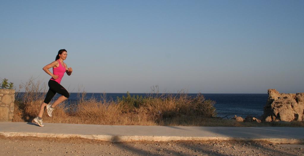 Irene Righetti a Karapathos per running Post