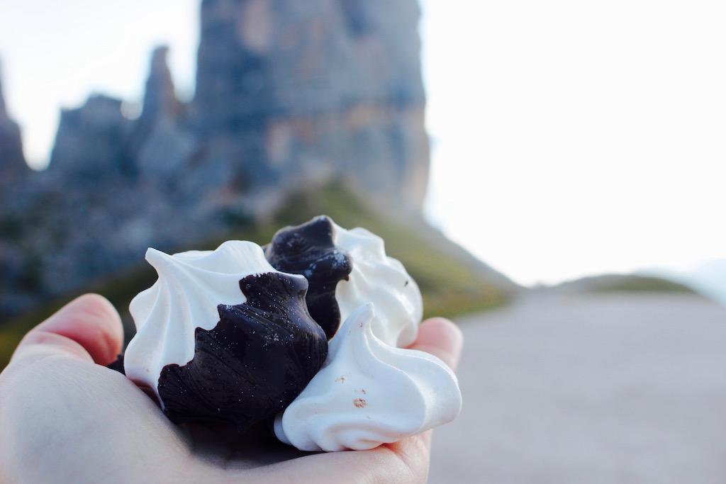 meringhe-con-cioccolato-fondente, delicioust trail - Foto Running Post
